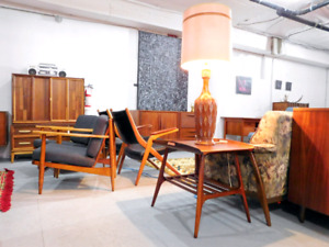 Vintage and Mid century Furniture Store