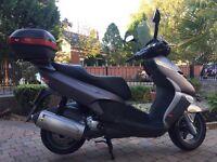 2007 aprilia Leonardo 300 scooter very clean 3899 miles £1250