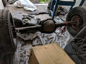 2005 F-250 super duty rear axle, Sterling 10.5, 410 gears