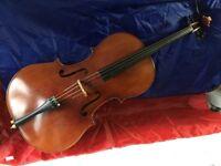 Cello. 4/4 high quality materials.