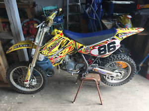 2009 rm 85cc suzuki racing dirt bike
