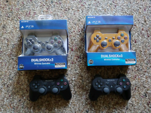 New PS3 controllers
