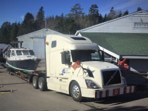 Boat Transport - Power and Sail - Canada and USA