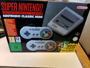 SNES CLASSIC SEALED EUROPE