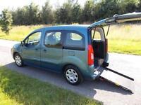 2010 60 Peugeot Partner Tepee 1.6 HDi. Diesel. Manual WHEELCHAIR ACCESSIBLE WAV