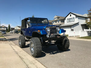 1988 Jeep Wrangler YJ Full Build