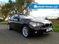 2012/12 BMW 1 SERIES 2.0 120D SE AUTOMATIC 5DR BLACK - £30 TAX - GREAT SPEC!