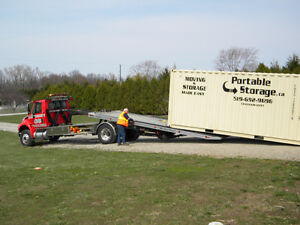 Portable Storage Container Moving and Rental Packages