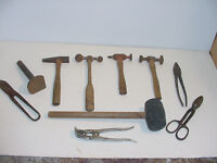 BLACKDMITH OR METAL WORKING TOOLS