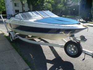 BAYLINER 17 FOOT CAPRI  120 MERCURY FORCE OUTBOARD