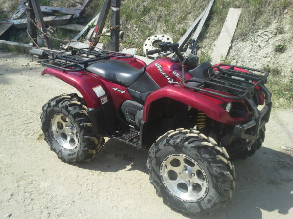 Yamaha 660 grizzly special edition for sale canada for 2006 yamaha grizzly 660 value