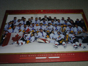Team Canada 2002 Olympic Gold Medal Team Picture