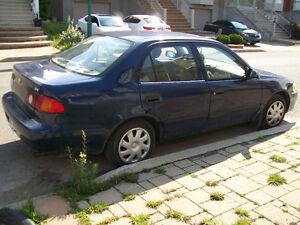 2002 Toyota Corolla 14 Sedan (with VGA registration)