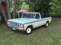 1979 Ford F-100 Ranger 2 Owners Only V8 351ci