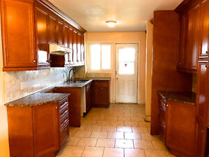 Spacious Newly Renovated 6 1/2 With Basement in Duplex & Parking