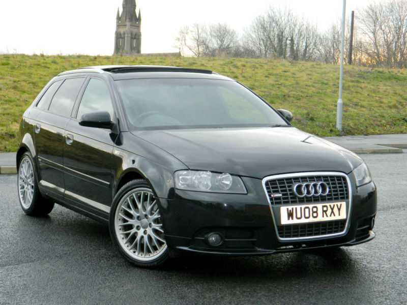 2008 audi a3 2 0tdi 170ps sportback quattro s line with for Dimensioni audi a3 sportback 2008