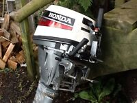 Outboard motor one owner from new only used one season