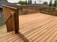 Deck and fence contractor.