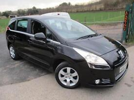 2010 PEUGEOT 5008 HDI SPORT 7 SEATER MPV (MULTI-PURPOSE VEHICLE) DIESEL