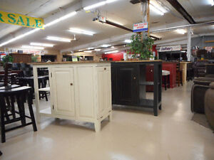Island with Storage & Recycling Drawers London Ontario image 1