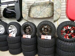 GOLF CART 12INCH LOW PROFILE WHEEL AND TIRE PACKAGE Belleville Belleville Area image 7