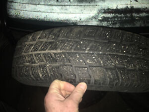 4 hankook winter tires and rims