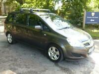 2009 Vauxhall Zafira EXCLUSIV 5-Door MPV Petrol Manual