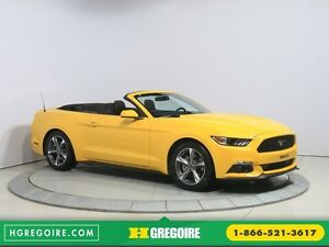 2016 Ford Mustang CONVERTIBLE V6 AUTO A/C GR ELECT MAGS BLUETHOO
