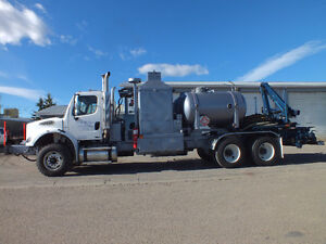 Freightliner M2 Chemical Cleaning Unit