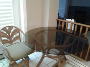 Ratten kitchen table chairs and bar stools