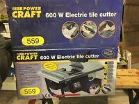 Power craft 600 W tile cutter