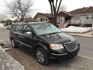 2008 Chrysler Town & Country LIMITED CAMÉRA GPS CUIR 7 PLACE