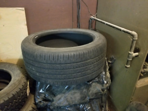 Summer tires good condition