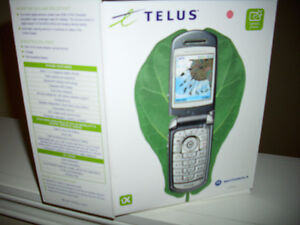 Like Brand New  V710 cellphone with telus