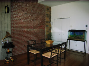 Lachine loft condo 3 1/2 for rent / à louer