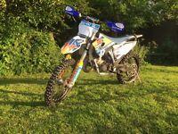 Husqvarna tc 125 motocross motorbike not tm rm CR YZ sx kx