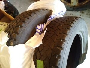Two 215 65 16 winter tires