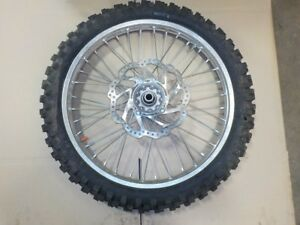 HONDA CRF 450R 2017/ OTHERS FRONT WHEEL TAKE OFF SUPURB COND