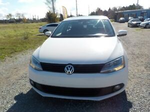 2012 VW JETTA 2.5L 5 CYL GAS MANUAL 110.00KM $11,400 CERT.