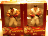 LIMITED EDITION: 2 x Street Fighter Round 1 Ryu Action Figure