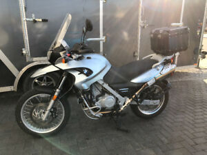 Mint low mileage BMW F650GS with factory lowered suspension, ABS