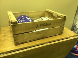Vintage Apple crates #reduced#