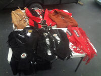 New Leather Jackets skirts and throws