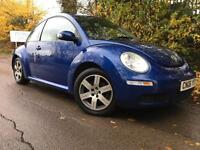 2006 Volkswagen Beetle 1.4 Luna 3dr, Only 62k miles, 2 Owners, MOT 12/2017