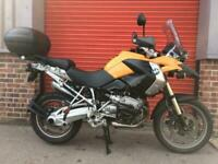 BMW R1200 GS NON ABS, ENGINE BARS, TOP BOX, HEATED GRIPS, SPOTLIGHTS