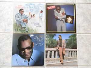 RAY CHARLES VINYL LP'S RECORD ALBUMS