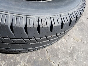2 Tires 265/75 r16. Lots of Tread.