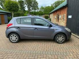 image for Hyundai i20 1.2 Classic 5 Door Hatchback 2010 Grey Long MOT PX to Clear