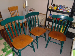 TABLE + CHAIRS -  ETC