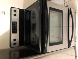 "Frigidaire stainless steel 30"" electric glass ceramic top stove"